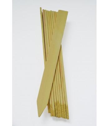 Sticketiketter i trä 20 cm,...
