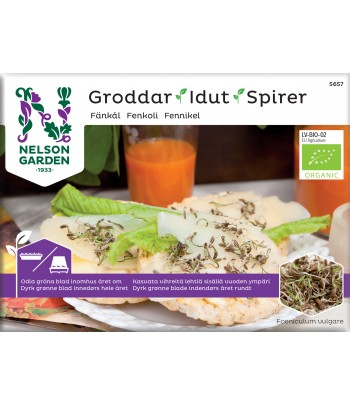 Groddar, Fänkål, Organic