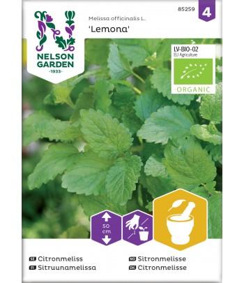 Citronmeliss, Lemona, Organic