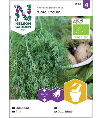 Dill, Blad-, Gold Crown,...