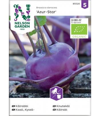 Kålrabbi, Azur-Star, Organic