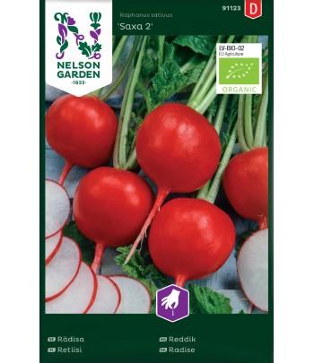 Rädisa, Saxa 2, rund, Organic