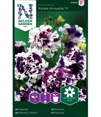 Petunia, Purple Pirouette...