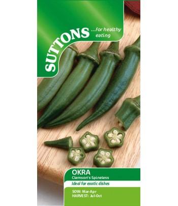 Okra Clemsons Spineless